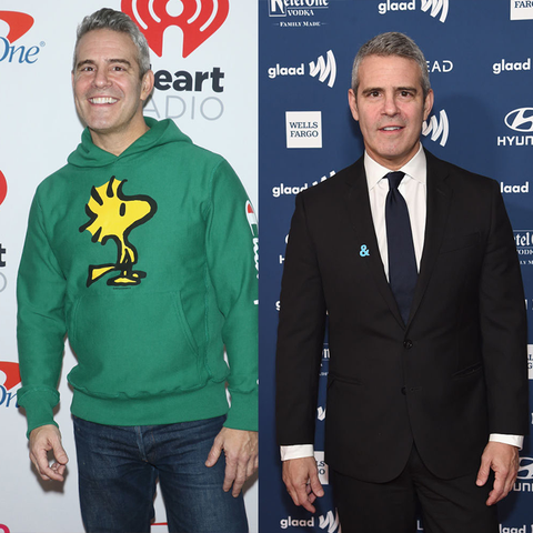 best celebrity weight loss transformations: andy cohen