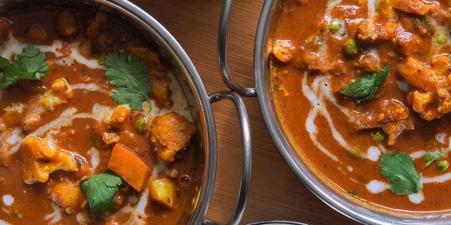 pumkin curry in bowl