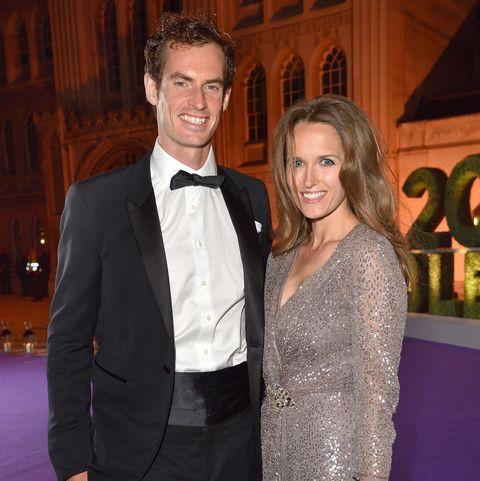 Andy and Kim Murray, Wimbledon Winners Ball 2016