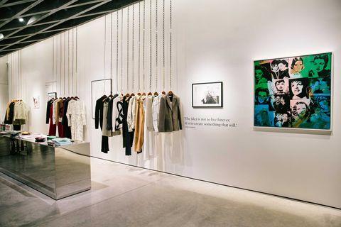 Boutique, Fashion, Art gallery, Exhibition, Building, Interior design, Art exhibition, Collection, Design, Automotive design,