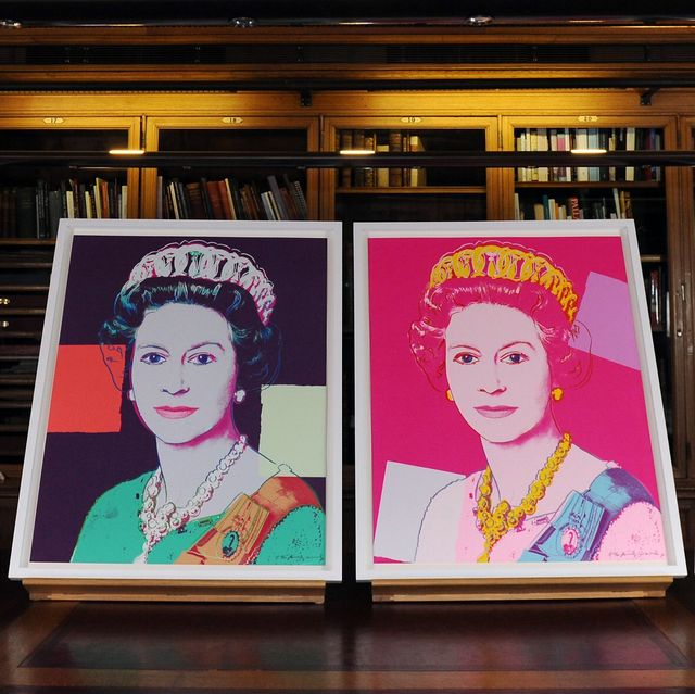 royal collection acquires andy warhol paintings