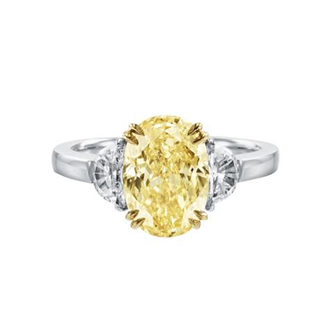 anelli moda di fidanzamento gialli