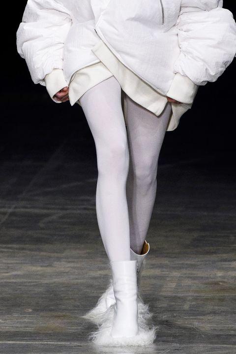 White, Fashion model, Leg, Clothing, Human leg, Footwear, Fashion, Ballet dancer, Ballet tutu, Dance,