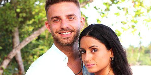 angel e inma, una de las parejas de 'la isla de las tentaciones 2'