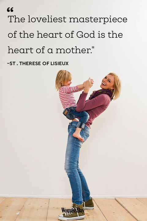 Mothers Day Poems and Quotes - St. Therese of Lisieux