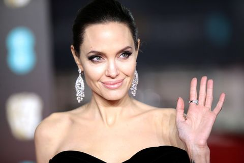 Angelina Jolie most admired woman