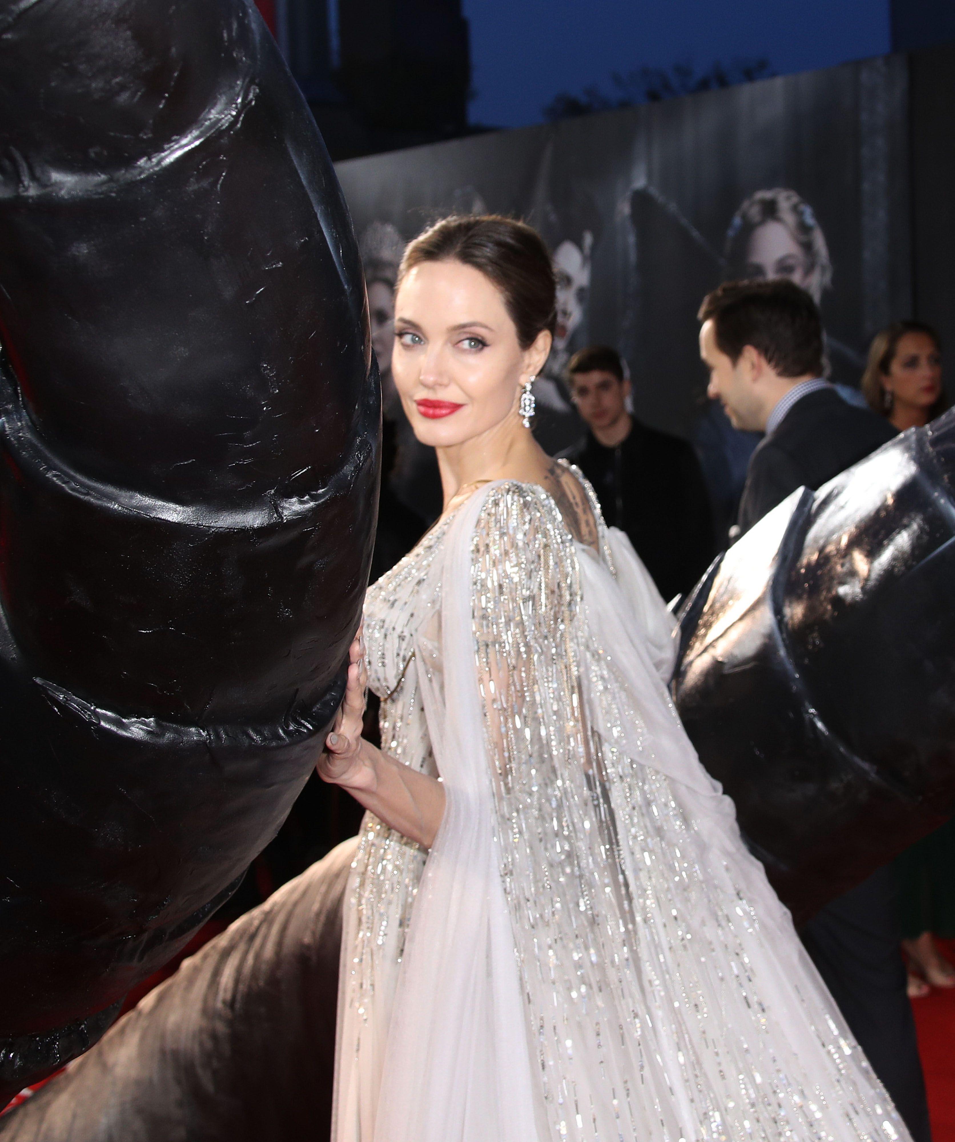 Flipboard Angelina Jolie Is A Real Life Enchantress In A