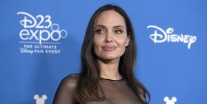 Angelina Jolie at Disney D23