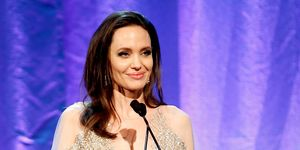 Angelina Jolie looked like a princess in stunning gown