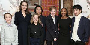 Angelina Jolie hijos