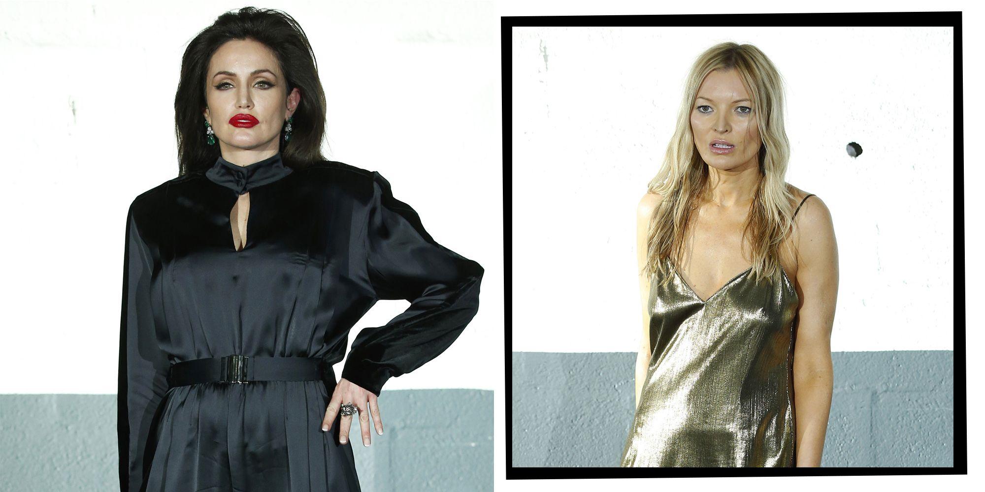 'Angelina Jolie', 'Kate Moss' And 'Naomi Campbell' Walk Vetements Show At Men's Paris Fashion Week