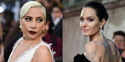 Angelina Jolie, Lady Gaga, 女神卡卡, 安潔莉娜裘莉,Cleopatra,伊莉莎白泰勒