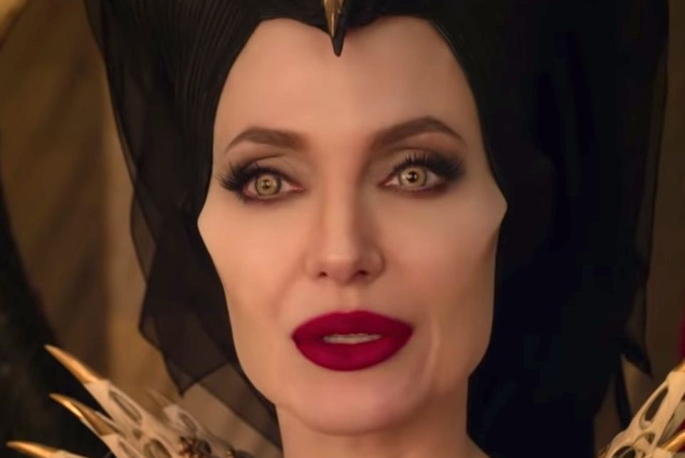 Angelina Jolie's Maleficent in Maleficent: Mistress of Evil