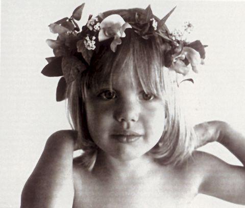 Angelina Jolie de pequeña