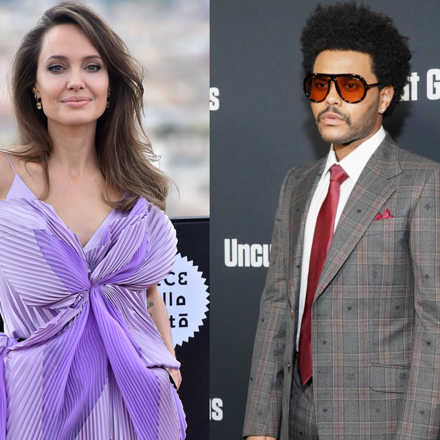 The Weeknd and Angelina Jolie were spotted leaving a romantic dinner... again
