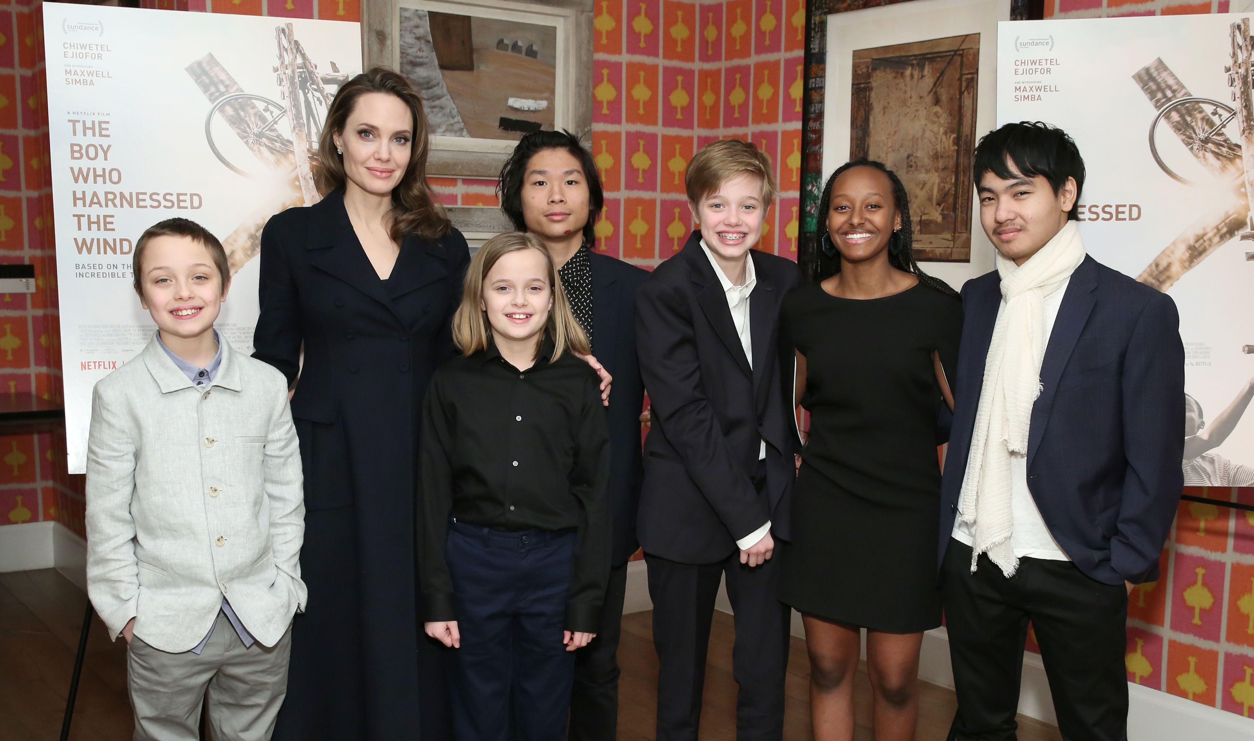 Angelina Jolie's Kids - Angelina Jolie And Brad Pitt's Kids On Red ...
