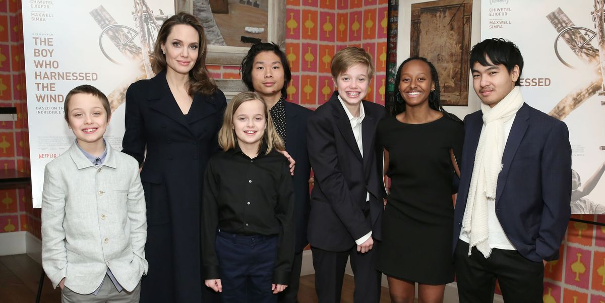 Angelina Jolie Speaks Candidly About Her Relationships With Her Kids and Their Life in Quarantine