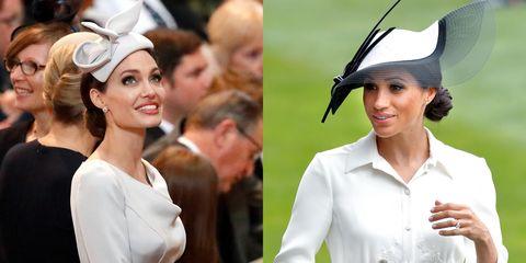 Headpiece, Hat, Fashion accessory, Fashion, Headgear, Hair accessory, Smile, Ear,