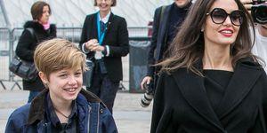Shiloh Jolie-Pitt and Angelina Jolie