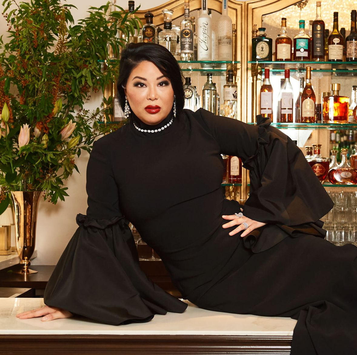 Les Trois Chevaux: How Angie Mar Made it Fun to Dress Up For Dinner Again