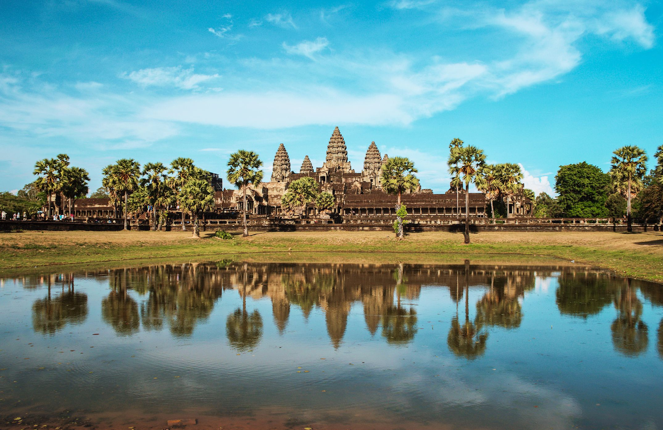 Angkor Wat- most popular landmarks in the world