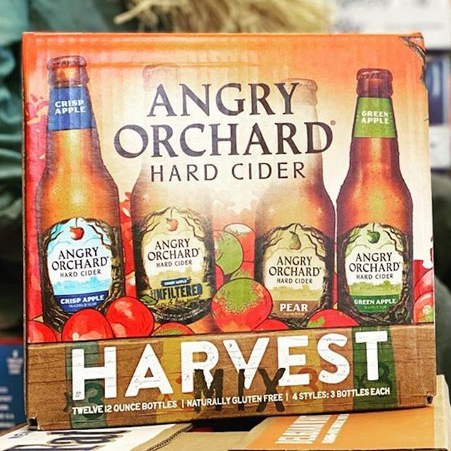angry orchard hard cider harvest pack