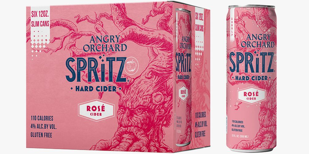 Angry Orchard S New Spritz Ros 233 Hard Cider Will Become