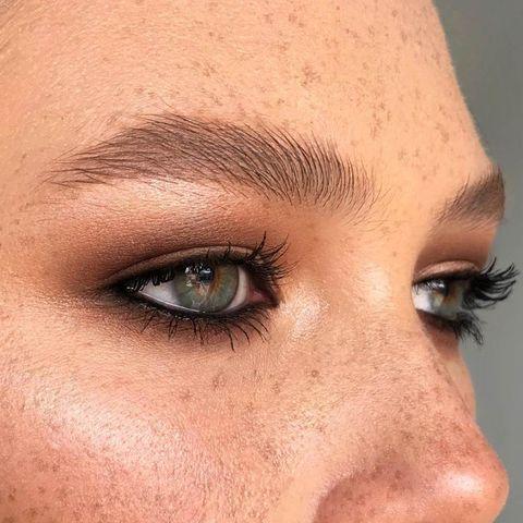 Eyebrow, Face, Hair, Forehead, Eyelash, Nose, Eye, Skin, Close-up, Cheek,