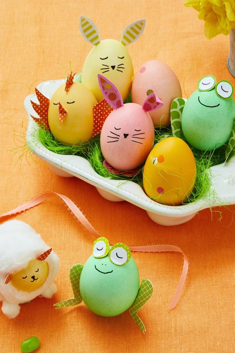 Animal Critters - Easter crafts for adults