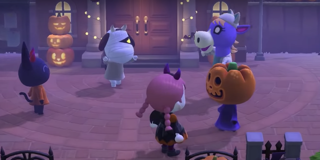 Animal Crossing Confirms New Halloween Update Launch Date