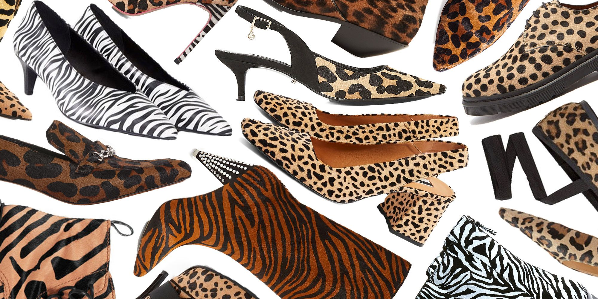 leopard print kitten heels - animal print shoes