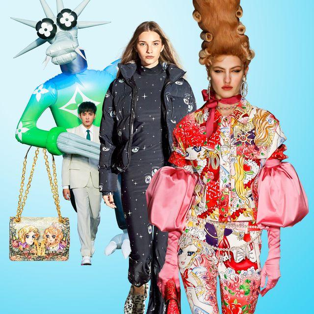 fashion anime moschino louis vuitton sandy liang