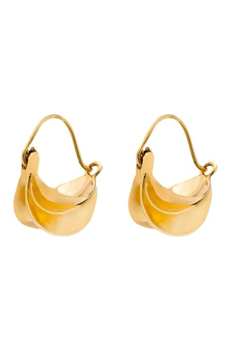 anissa kermiche earrings, best gold hoops