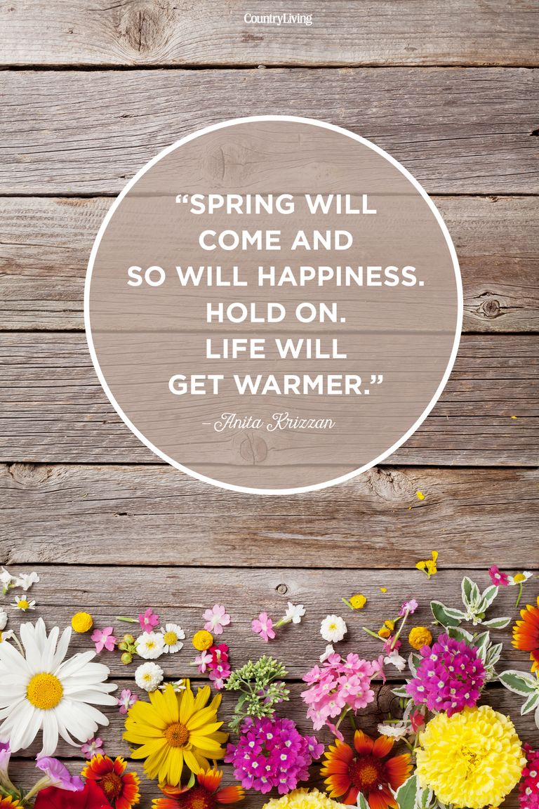 Inspirational Spring Quotes And Sayings: Motivational Sayings About Spring