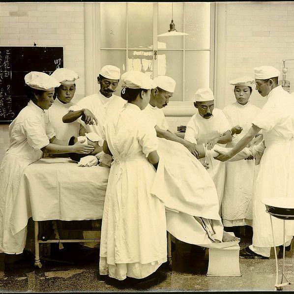婦人画報 医療従事者 女性看護士 日露戦争 従軍看護士 日本赤十字