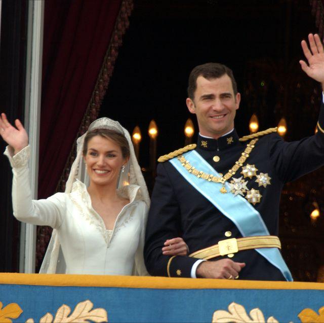 Felipe y Letizia celebran su 15 aniversario de boda.