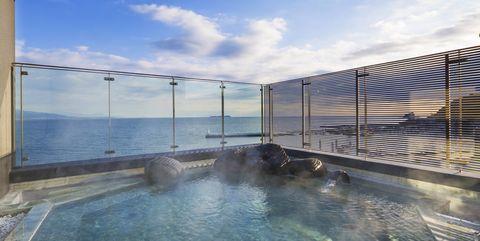 「星野リゾート 界 アンジン」の露天風呂