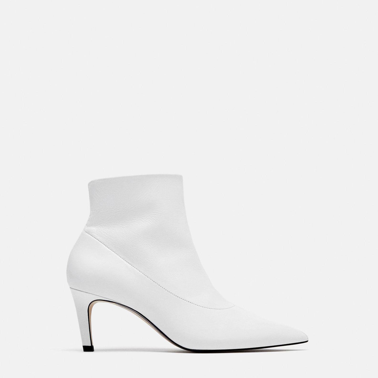Botas blancas Zara