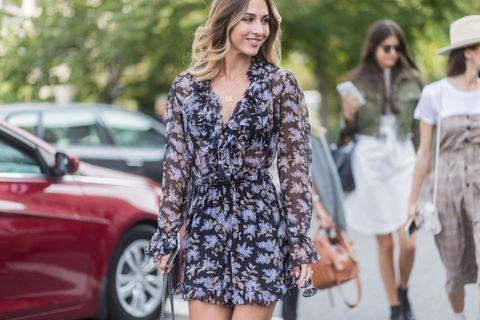 New York Fashion Week - Street Style - Day 5