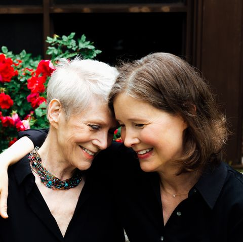 Ann Patchett with her mother Jeanne Ray