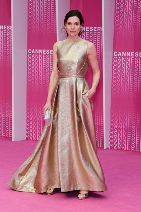 """closing ceremony and """"safe"""" pink carpet arrivals   the 1st cannes international series festival"""