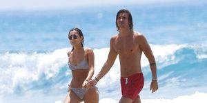 Anna Ferrer con su novio Iván en Cádiz agosto 2019