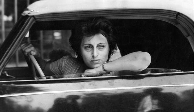 anna magnani au volant d'une voiture circa 1950 photo by keystone francegamma rapho via getty images