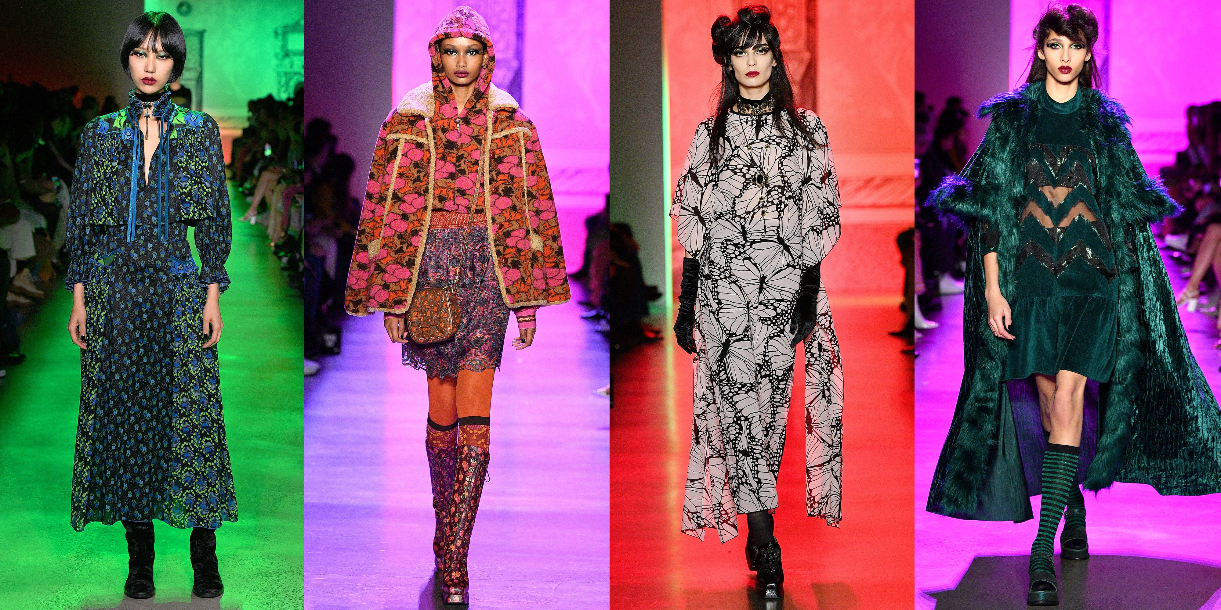 Anna Sui's Fall 2020 Runway Collection Was Full of Dark Romance