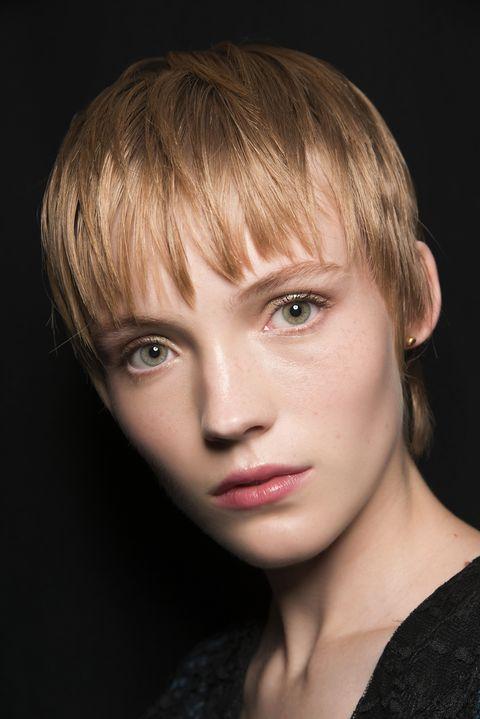 Face, Hair, Hairstyle, Blond, Chin, Eyebrow, Beauty, Lip, Head, Bangs,