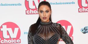 Love Island's Anna Vakili at the TV Choice Awards