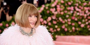 Anna Wintour tijdens het MET-gala 2019: Notes On Camp