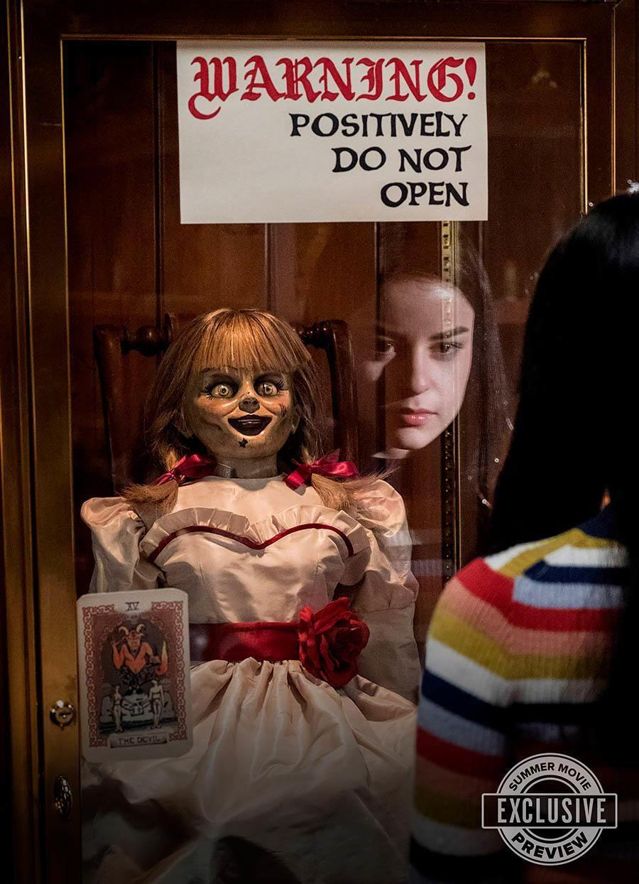 'Annabelle vuelve a casa' tiene nueva imagen oficial
