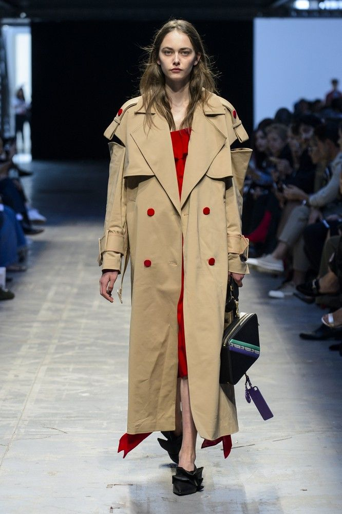 trench moda primavera 2018