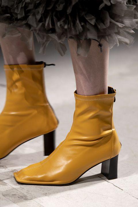 scarpe punta quadrata autunno inverno 2020 2021